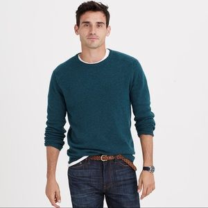 J. Crew sweater pullover slim fit elbow patch wool